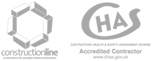 Constructionline & CHAS Accredited Contractor